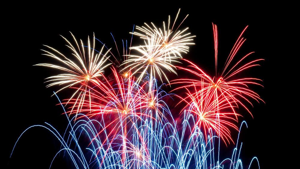 Fireworks at Les Sablettes à La Seyne-sur-Mer - 0
