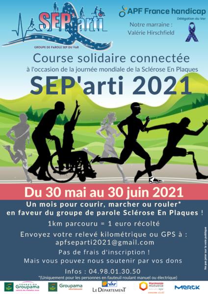 SEP'arti 2021 Course solidaire connectée à La Seyne-sur-Mer - 0
