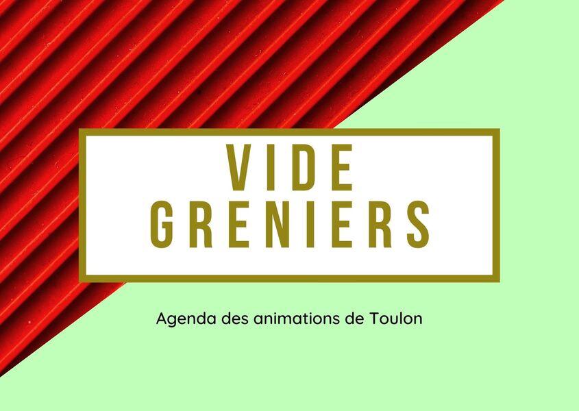 Marché aux puces de Ste Musse à Toulon - 0