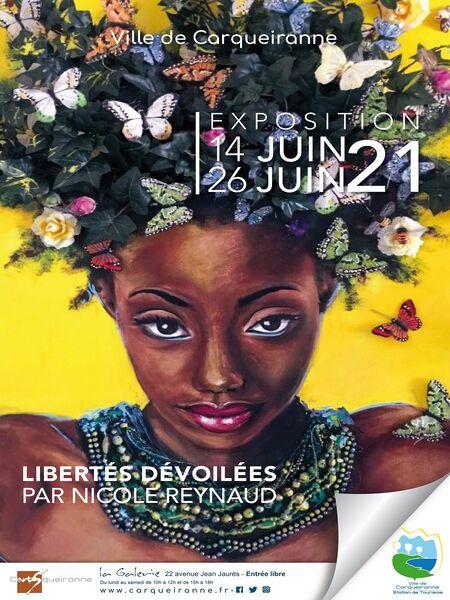Exposition C'ARTS'QUEIRANNE – La Galerie – Peintures par Nicole Reynaud à Carqueiranne - 0
